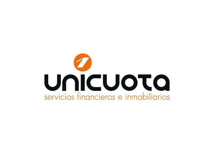 Diseño de logotipo para empresa de servicios financieros e inmobiliarios