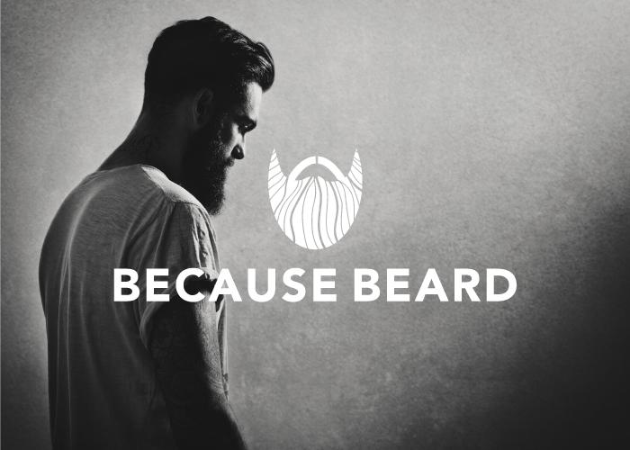 Diseño de logotipo para página de facebook dedicada a las barbas