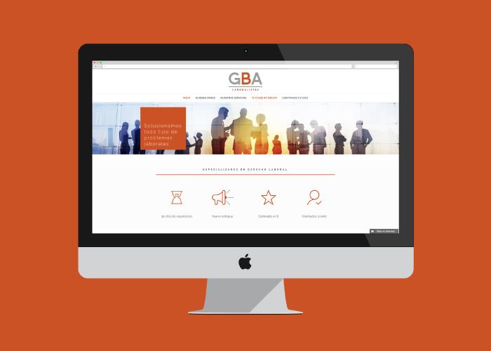 Desarrollo y diseño web despacho abogados laboral Málaga