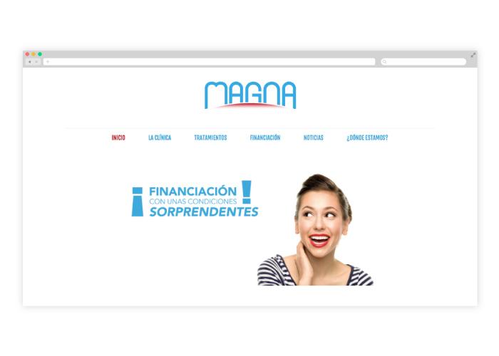 Diseño web clínica dental en Málaga y Valladolid