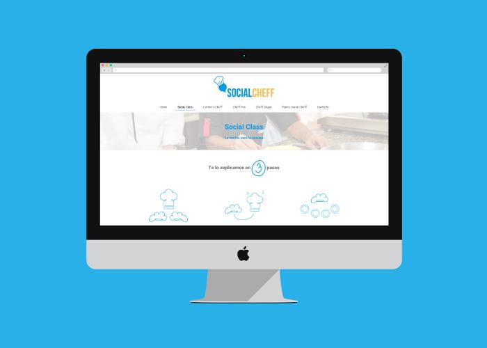 Diseño y desarrollo web de tienda cursos de cocina online - Factoryfy