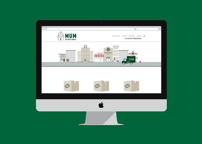 Diseño web empresa de mudanzas Murcia