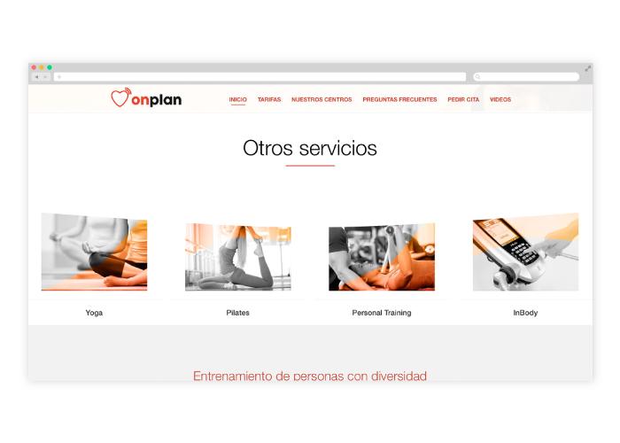 Diseño y desarrollo web centro de electroestimulación