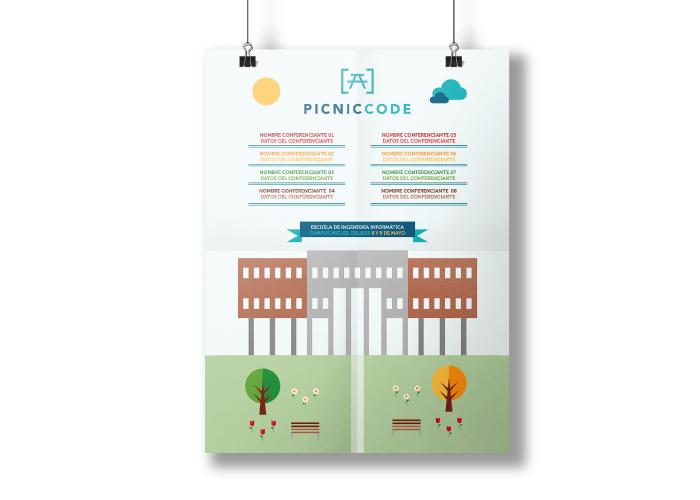 Dise o de cartel para congreso de inform tica factoryfy for Diseno arquitectonico informatica