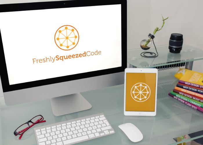 Diseño de logotipo para compañía de informática