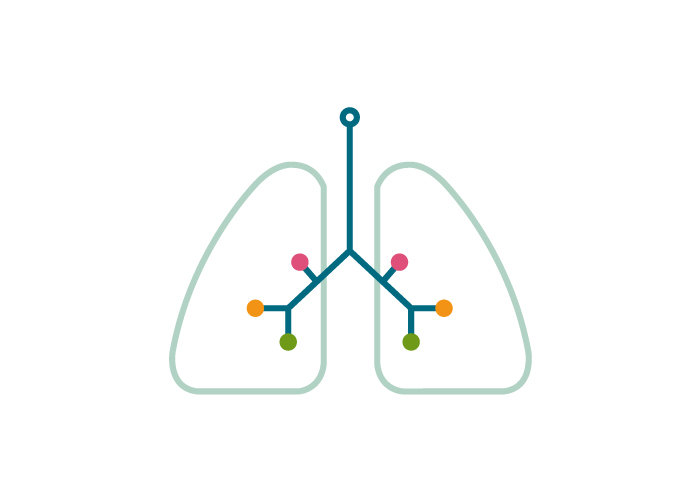 Diseño de logotipo para consultoría de neumología pediátrica