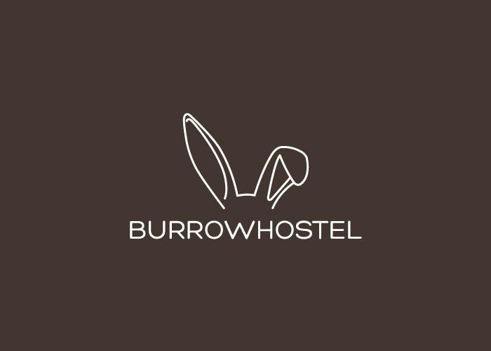 Diseño de logotipo para hostel