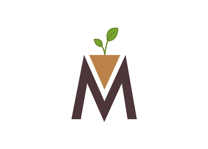 Diseño de logotipo para web de jardinería