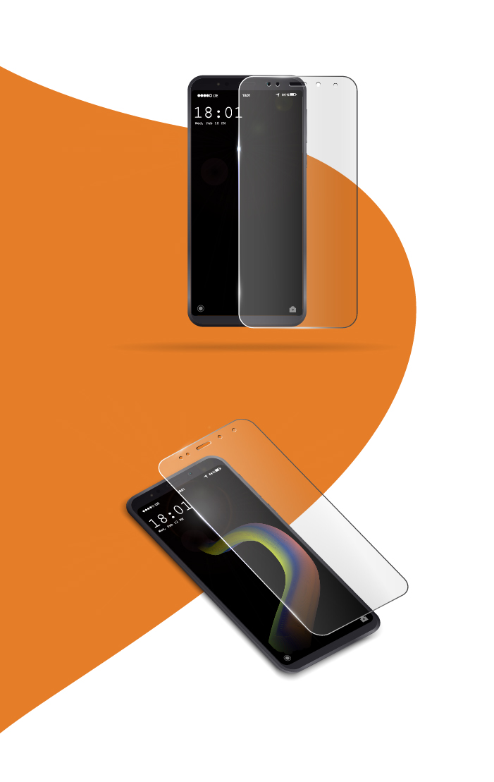 Diseño Packaging protector pantalla móviles