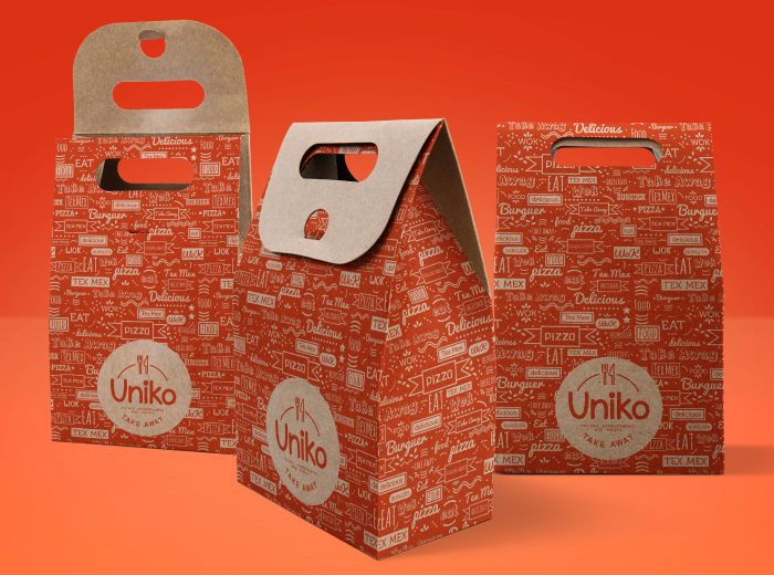 Diseño de packaging negocio de take away