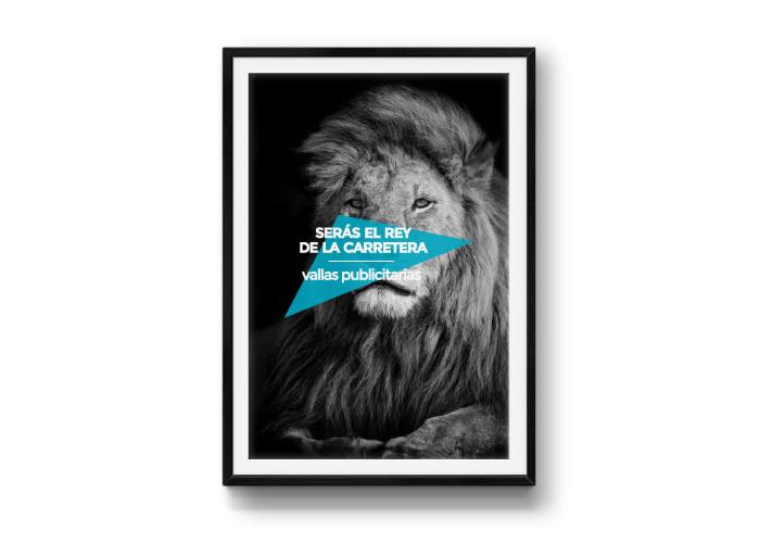 Diseño de creatividad para empresa de publicidad exterior