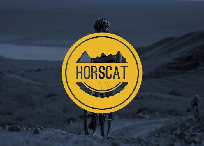 Diseño de logotipo para una web de ciclismo de montaña