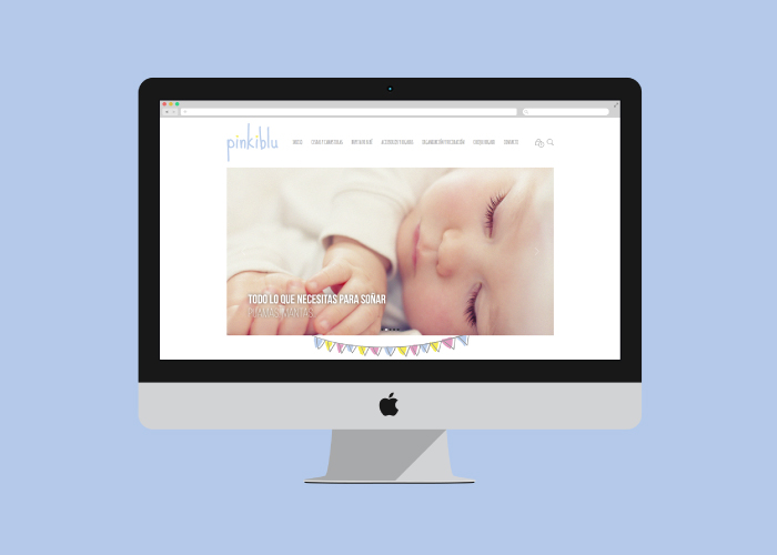 fb6607982 Diseño y desarrollo de tienda online en wordpress de ropa para niños y bebés  ...