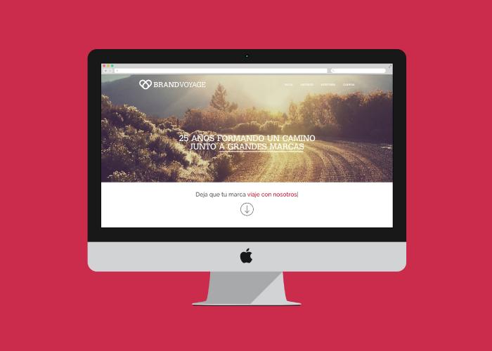 Diseño web espacios y elementos publicitarios de marca