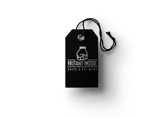 Diseño de etiqueta para marca de ropa deportiva, para entrenar