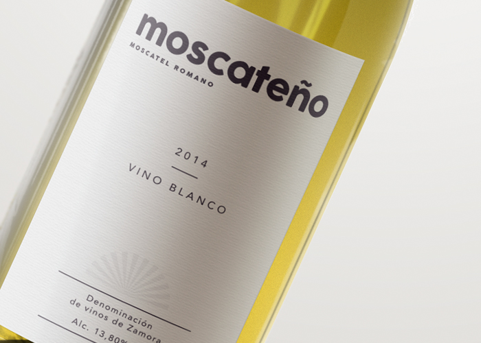Diseño de etiqueta para Vino