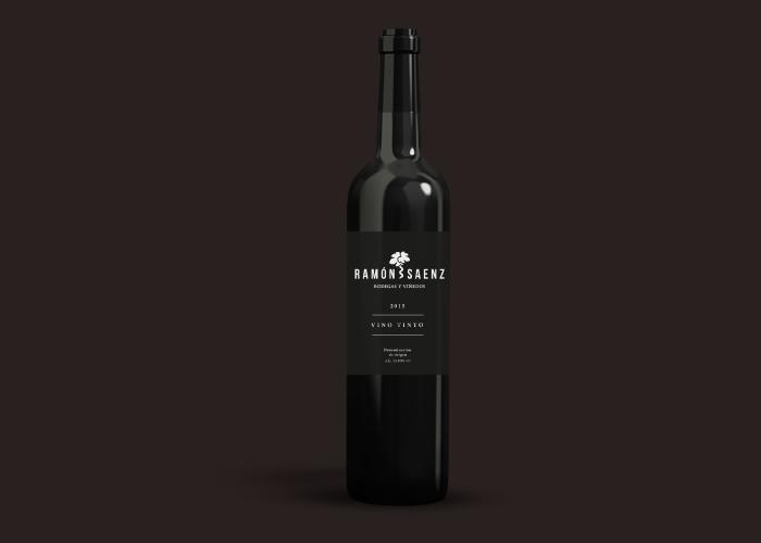 Diseño de etiquetas para una marca de vinos