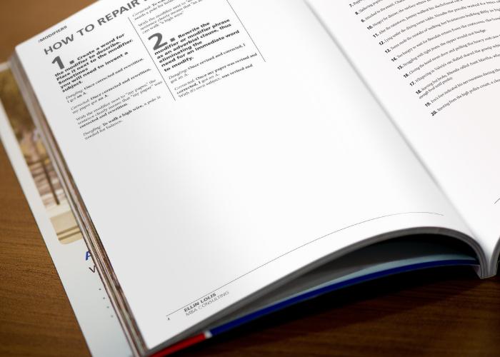 Diseño editorial para curso de inglés con formato revista