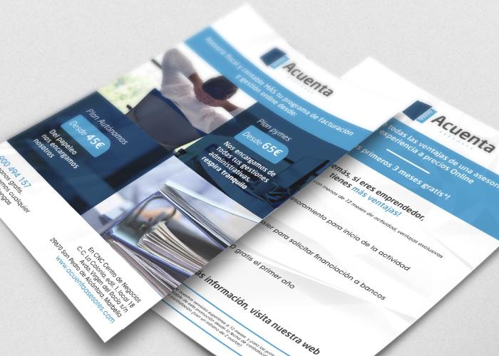 Diseño de flyer para asesoría online
