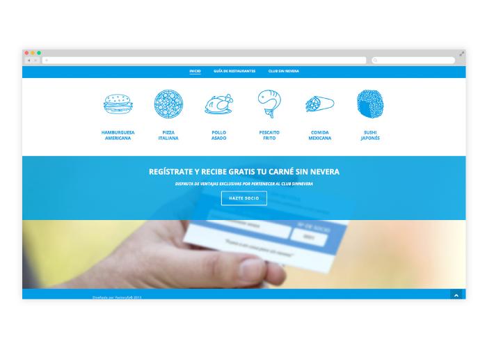 Diseño plataforma web para guía de restaurantes