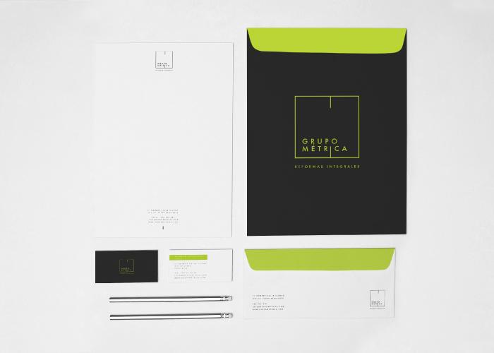 Diseño logo reformas integrales y servicios