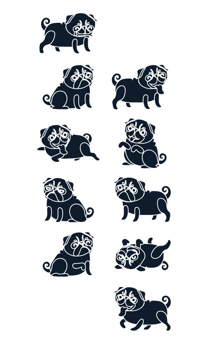 diseno-ilustracion-pug-negro