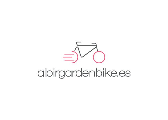 Diseño logotipo empresa alquiler de bicis