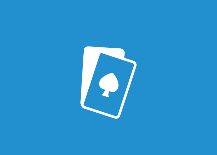 Diseño logotipo cartas de poker
