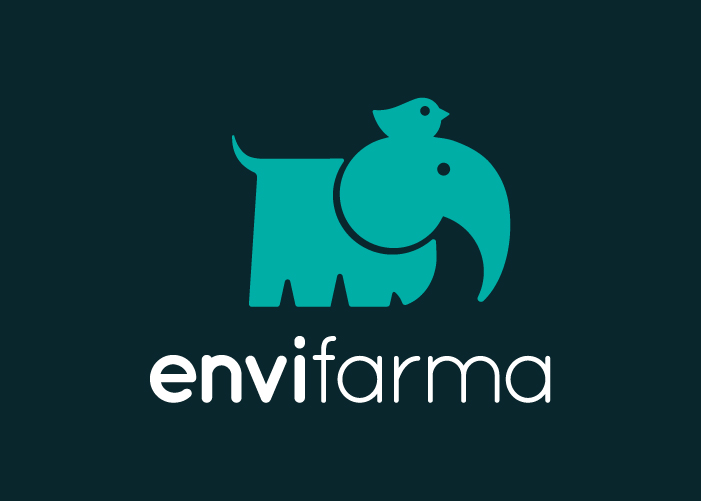 diseño logo elefante y pajarito