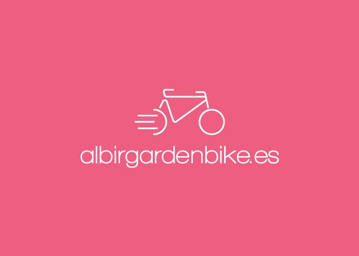 Diseño logotipo alquiler bicicletas profesionales en Benidorm