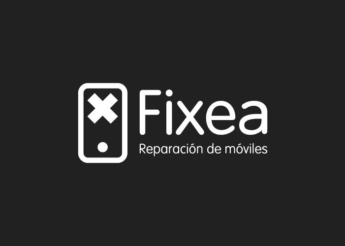 Diseño de logotipo para empresa dedicada a servicios de reparación de dispositivos móviles en Málaga