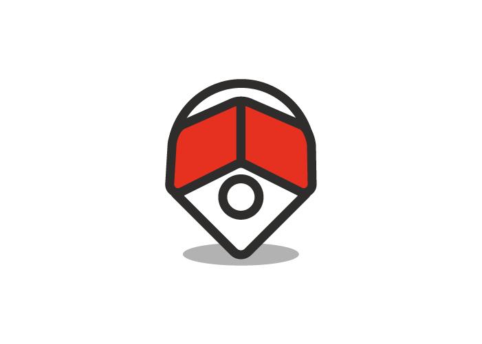 Diseño de logotipo para empresa dedicada a la gestión inmobiliario.