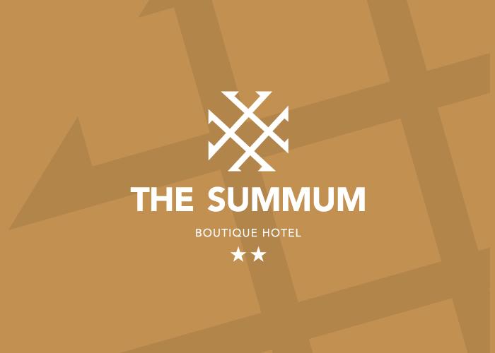 Diseño de identidad visual para tres servicios de un mismo hotel