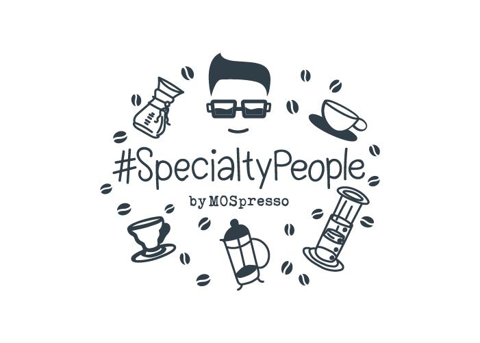 Diseño logotipo ilustrado para campaña especial de marca de café gourmet
