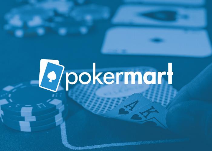 Diseño logotipo para una tienda online que vende accesorios de poker