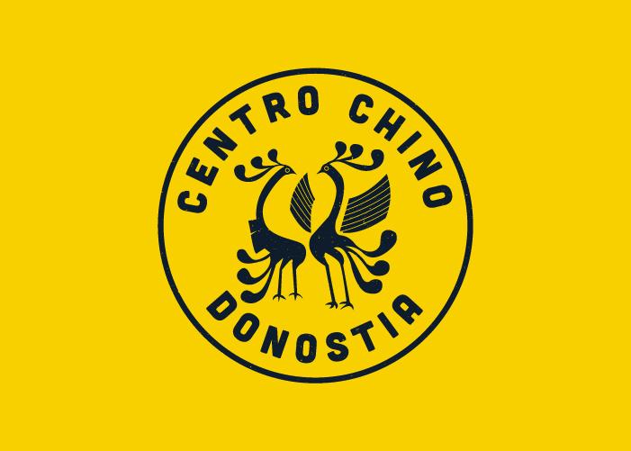 diseñoo logotipo academia idiomas chino