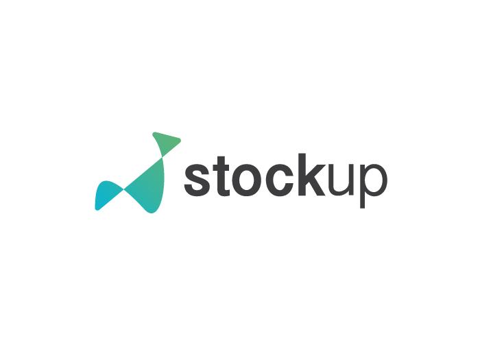Diseño logo asesor financiero bolsa