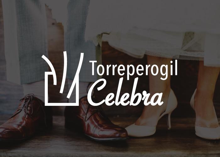 diseño de logotipo para sala de celebraciones y eventos