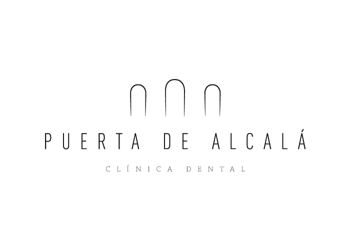 Diseño de logotipo para una clínica dental en la Puerta de Alcalá en Madrid