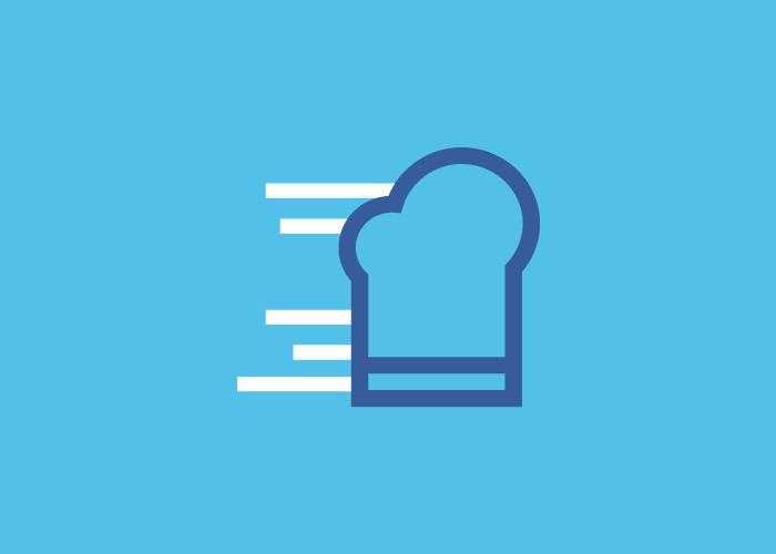 Diseño marca gorro cocina