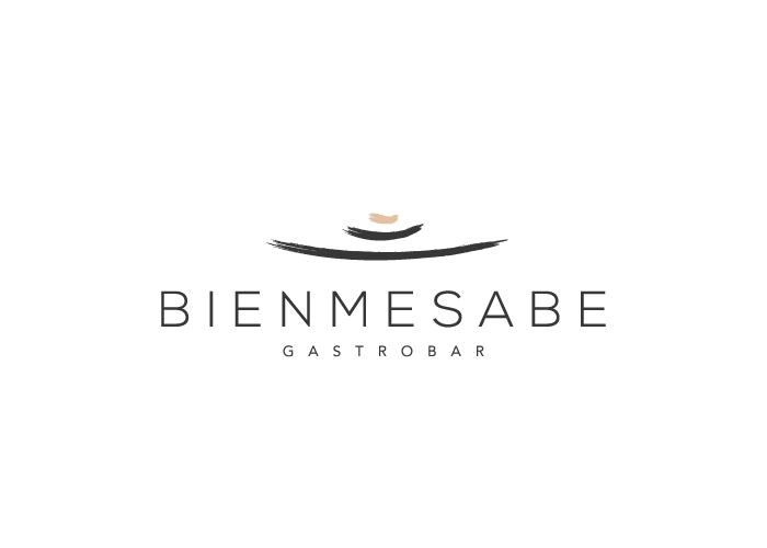 diseño de logotipo plato conceptual