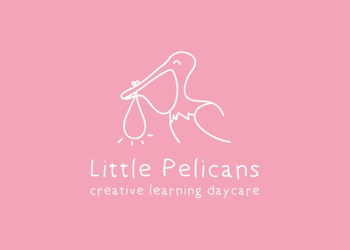 diseño logo pelicano