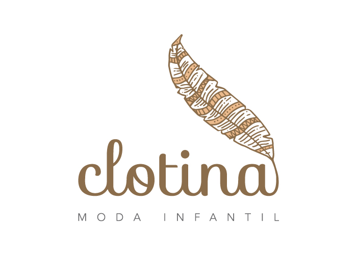 Diseño de logotipo para una empresa de moda infantil