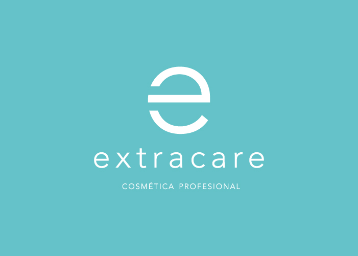 Diseño de logotipo para empresa dedicada a la producción y distribución de productos de cosmética profesional.