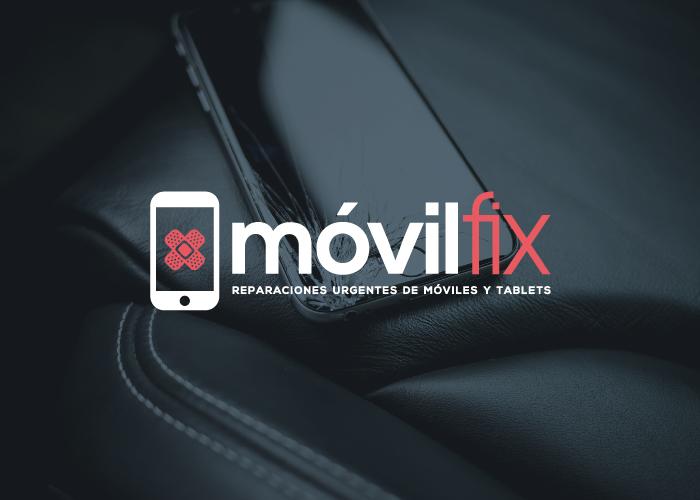 Diseño logotipo empresa reparaciones móviles tablets