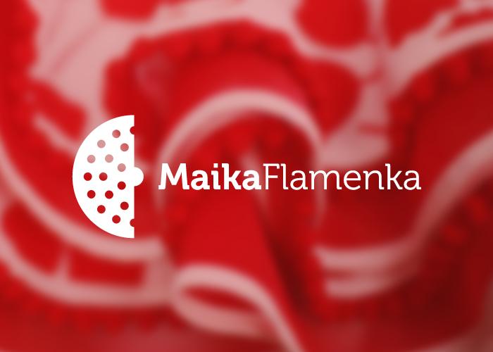 Diseño de logotipo para tienda de vestidos de flamenca