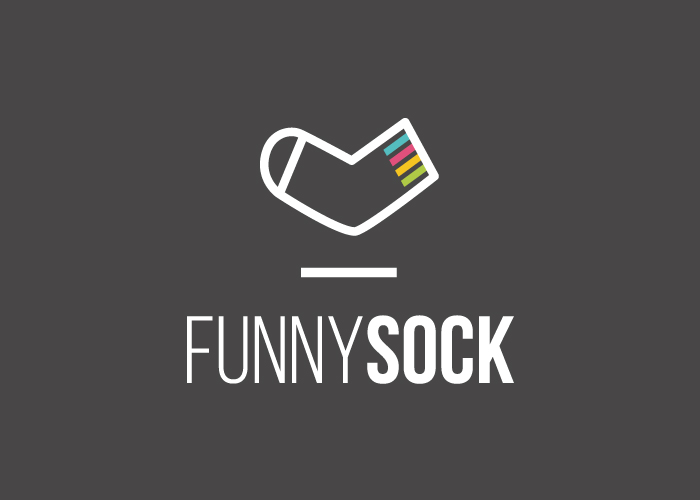 diseño logo tienda online calcetines