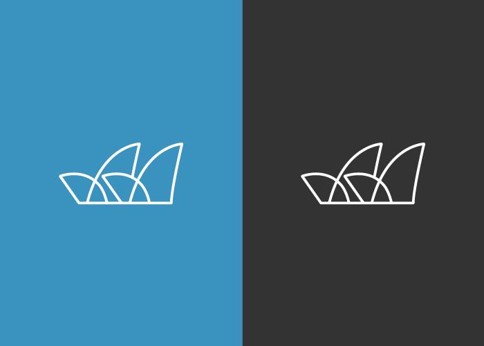 Diseño logotipo ópera de Sidney