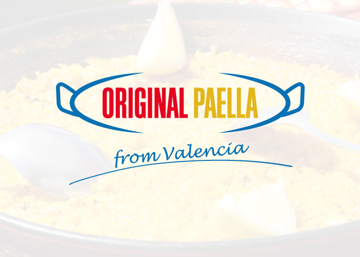 Diseño de logotipo para una web que vende paelleras