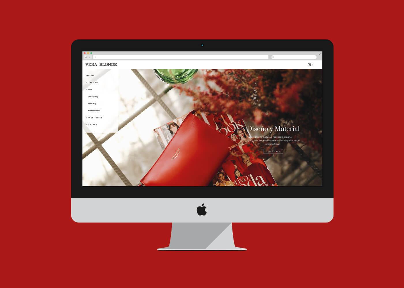 Diseñamos una tienda online de bolsos espectacular